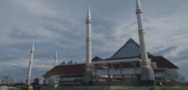 Presiden Jokowi Resmikan Masjid Raya Kota Jakarta