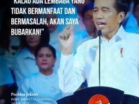THE COMING CABINET STRUCTURE IS JOKOWI's SPECIAL RIGHTS