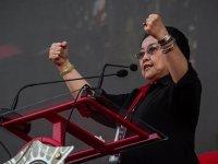 Protest Against Megawati's Salary