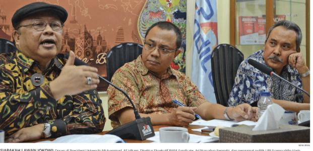 Siapa Lawan Tanding Jokowi?