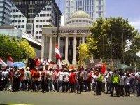 137 Elemen Gerakan Massa tolak revisi UU MD3