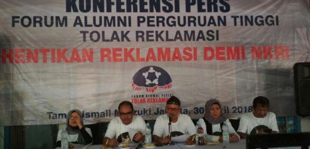Forum Alumni Perguruan Tinggi Seluruh Indonesia (Fa – Petisi) Menolak Reklamasi