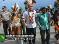 The Bird of Kasuari Will Appear Jointly With The Bird of Cenderawasih on  The Tribune of Papua