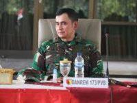 KAPTEN INFANTERI SA DAN 7 PRAJURIT TNI AD DITAHAN