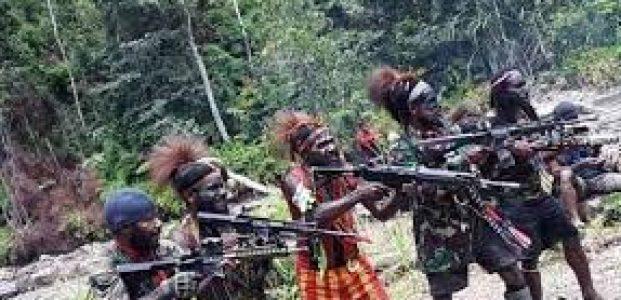 PEMBERONTAK DI PAPUA KEMBALI TEMBAKI ANGGOTA TNI