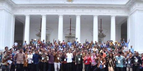 Presiden Jokowi Kenalkan Terobosan KJA Lepas Pantai kepada Nelayan