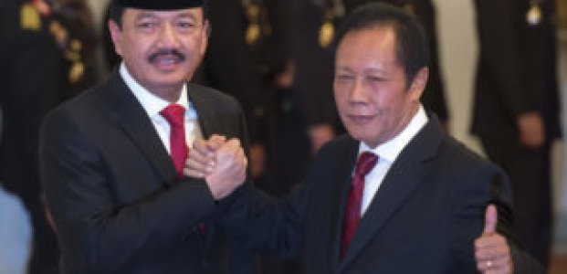 The Job of Chief of BIN Will Be Transferred From Lieut. Gen. of TNI  Sutiyoso to Comm.Gen. of Pol. Budi Gunawan