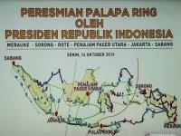 PERESMIAN PROYEK PALAPA RING (PAKET TIMUR) : SETAPAK LANGKAH MAJU INDONESIA Oleh : Wildan Nasution