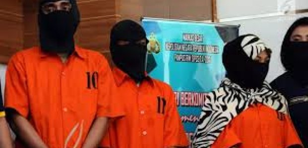 7 Pelaku Curanmor Ditangkap Polres Kotawaringin Barat