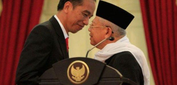 Joko Widodo-Ma'ruf Amin Mempunyai Peluang Menang Lebih Besar