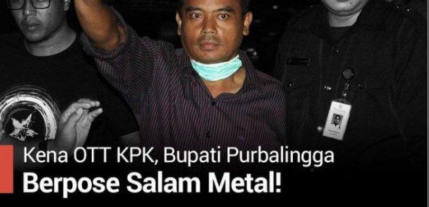 Salam Metal Dari Tersangka KPK: Politik Ekonomi Korupsi