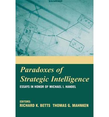 Resensi Buku : Paradoks-Paradoks Dalam Intelijen Strategis