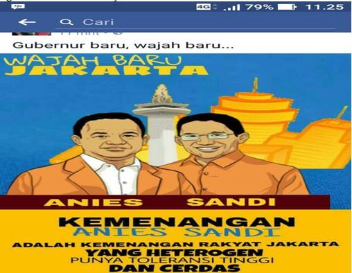 Dynamics after the Second Round Jakarta Governor Election