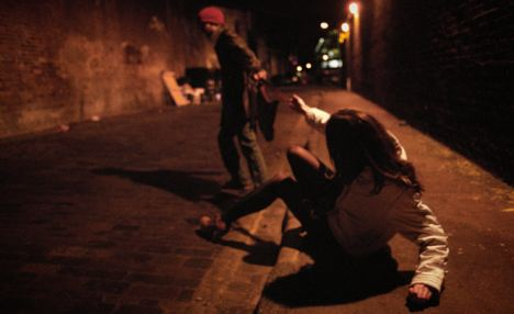 Questioning Street Criminals in Indonesia