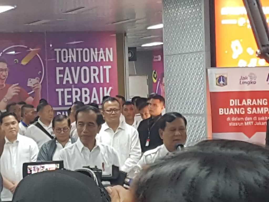 FINALLY,  JOKOWI MEET PRABOWO,  WHAT IS THE IMPACT?  Oleh : Yando Sultan Wijaya