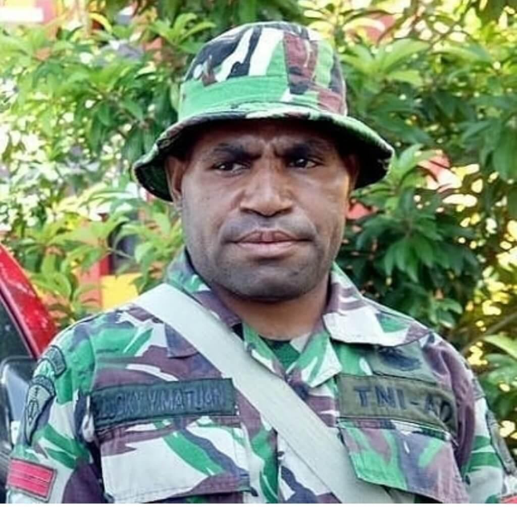 SOSOK LUCKY MATUAN, PRAJURIT TNI YANG MEMBELOT JADI KKB PAPUA
