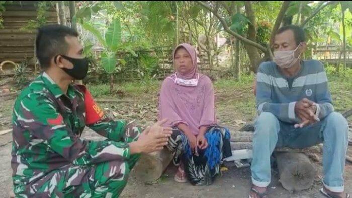KISAH HARU SEORANG IBU TUKANG CUCI PAKAIAN DI ACEH UTARA, PUTRANYA LULUS MENJADI PRAJURIT TNI