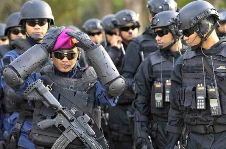 PASUKAN DENJAKA DISEBUT TELAH TIBA DI PAPUA UNTUK TUMPAS KKB, INI KATA MARINIR DAN TNI AL