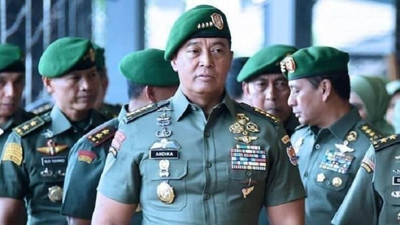 UCAPAN KASAD JENDERAL ANDIKA JADI KENYATAAN, TIGA PERWIRA TNI AD DIJATUHI HUKUMAN